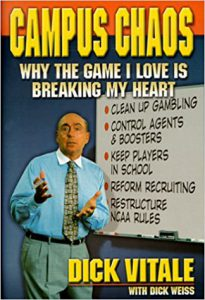 Book Cover: Campus Chaos - Why the Game I Love is Breaking My Heart