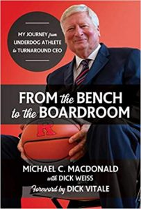 Book Cover: From the Bench to the Boardroom: My Journey from Underdog Athlete to Turnaround CEO